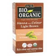 Био билкова боя за коса - светло кестеняво 100 г