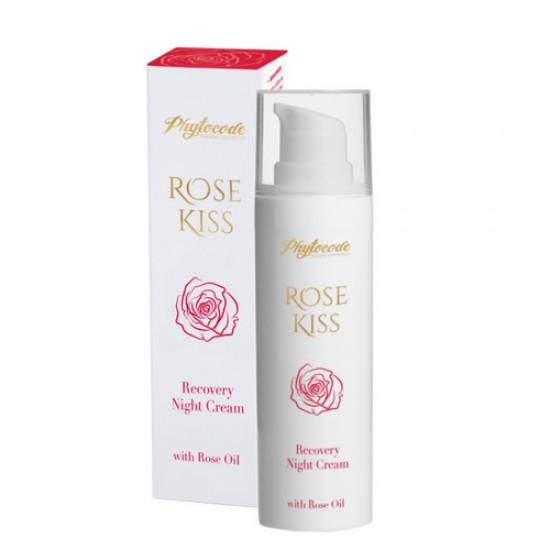 Възстановяващ нощен крем Rose Kiss - 30мл.