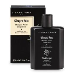 Черна хвойна - Енергизиращ шампоан за коса и тяло - 250мл.