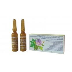 Нощен овлажняващ концентрат против бръчки с масло от здравец и хиалуронова киселина