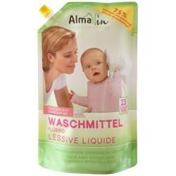 Натурален течен перилен препарат за бебешки дрехи - 1,5 л.