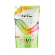Натурален течен перилен препарат за цветни дрехи - 1,5 л.