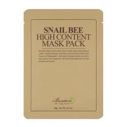 Маска с концентрирано съдържание на екстракт от охлюви и пчелна отрова