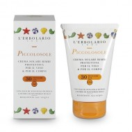 Слънцезащитен крем за деца с олио от ядки на бадем и праскова SPF30 - 125мл.