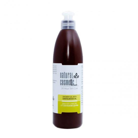 Душ-гел с етерично масло от сандалово дърво - 300мл.